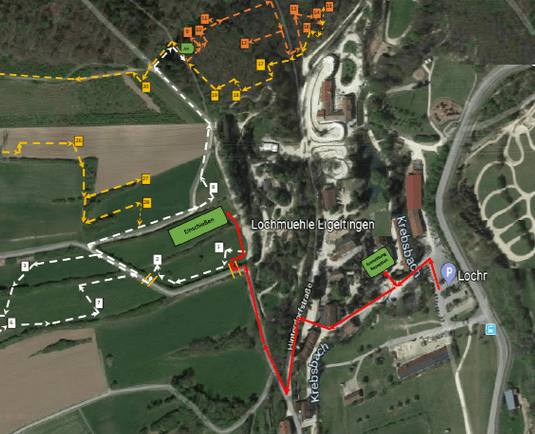 Parcoursplan
